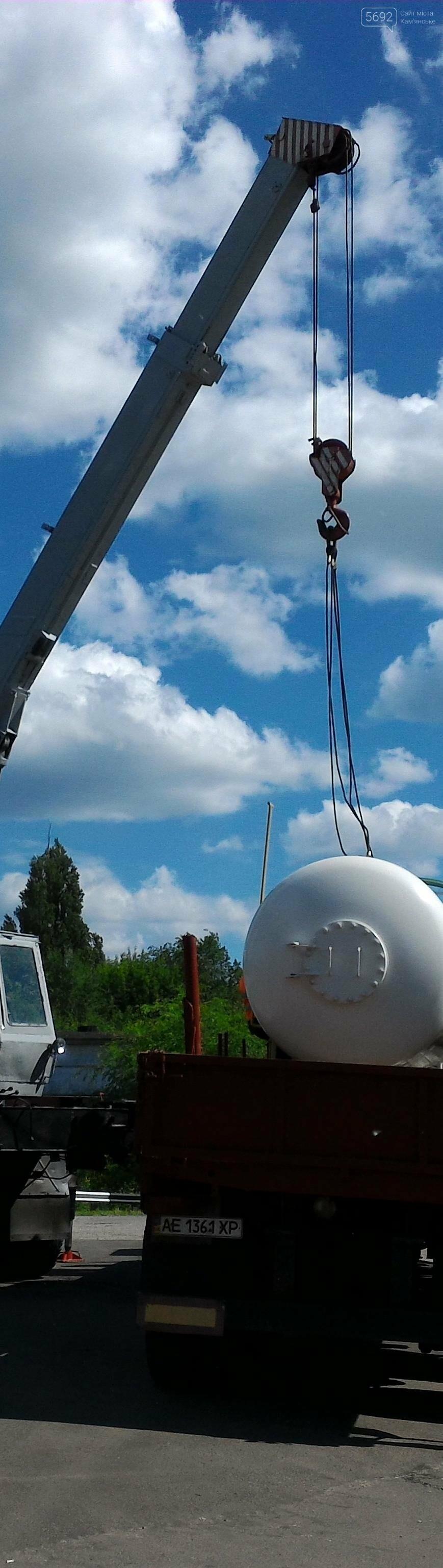 В Каменском демонтировали газовую заправку, фото-2