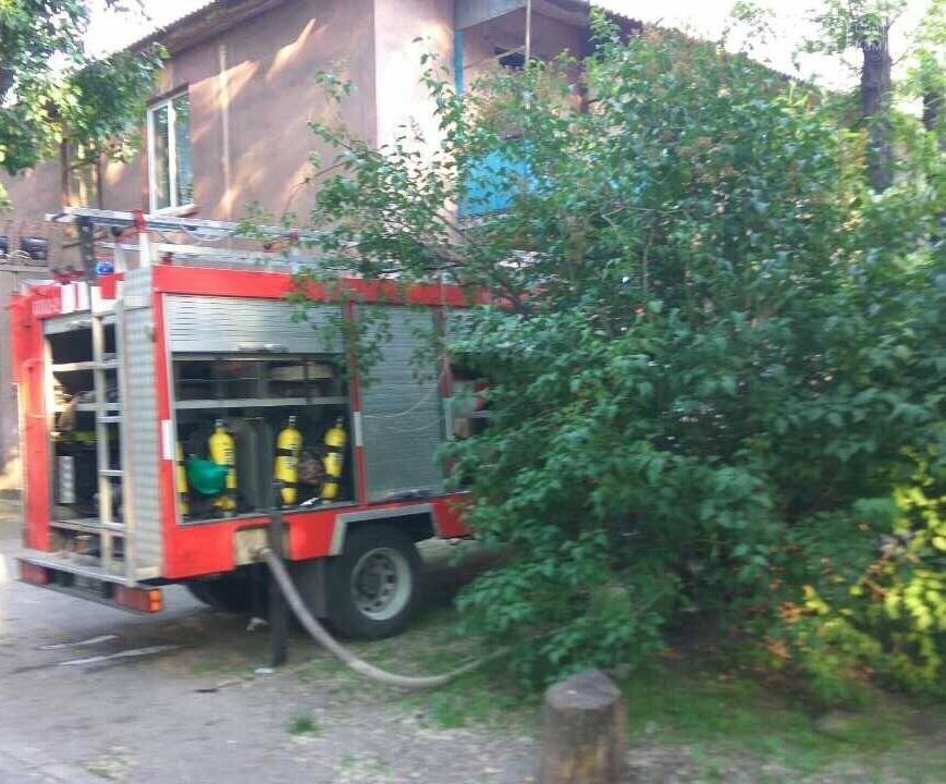 В Каменском на улице Павловской случился пожар, фото-2