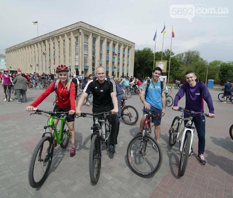 Каменское заполонили велосипедисты, фото-3