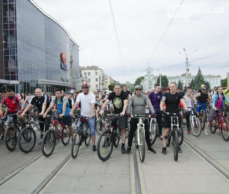 Каменское заполонили велосипедисты, фото-4