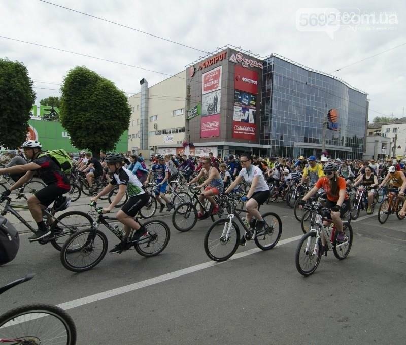 Каменское заполонили велосипедисты, фото-5