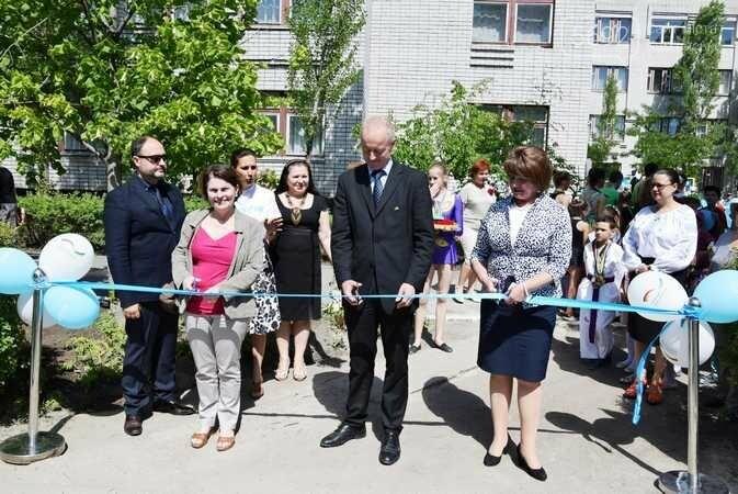 В Каменском при содействии Детского фонда ООН открыли спортплощадку, фото-2