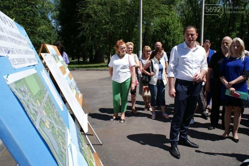 После реконструкции в парке Каменского появится озеро, фото-5