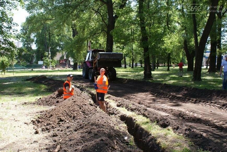 После реконструкции в парке Каменского появится озеро, фото-7