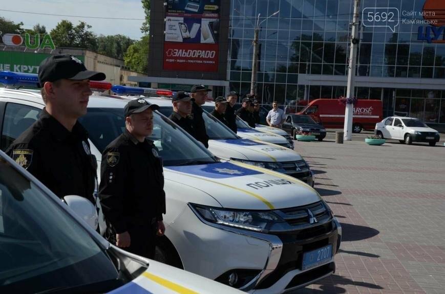 Полиция Каменского получила новые электромобили, фото-4