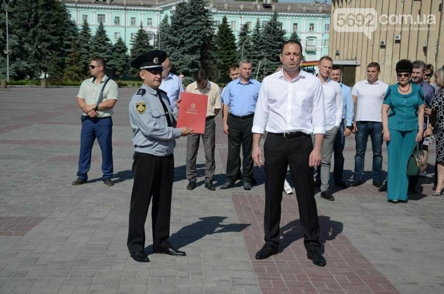 Полиция Каменского получила новые электромобили, фото-5