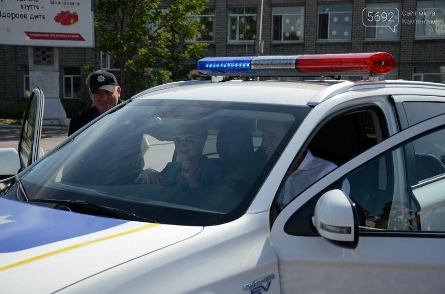 Полиция Каменского получила новые электромобили, фото-7