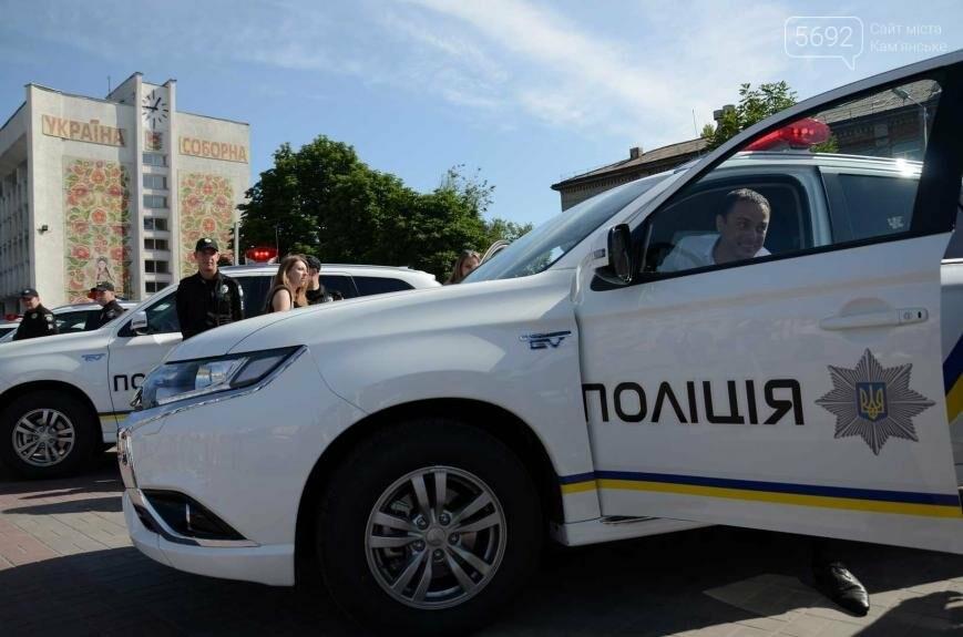 Полиция Каменского получила новые электромобили, фото-8