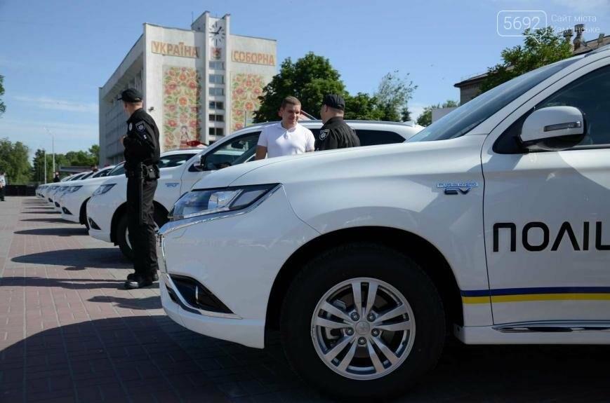 Полиция Каменского получила новые электромобили, фото-9