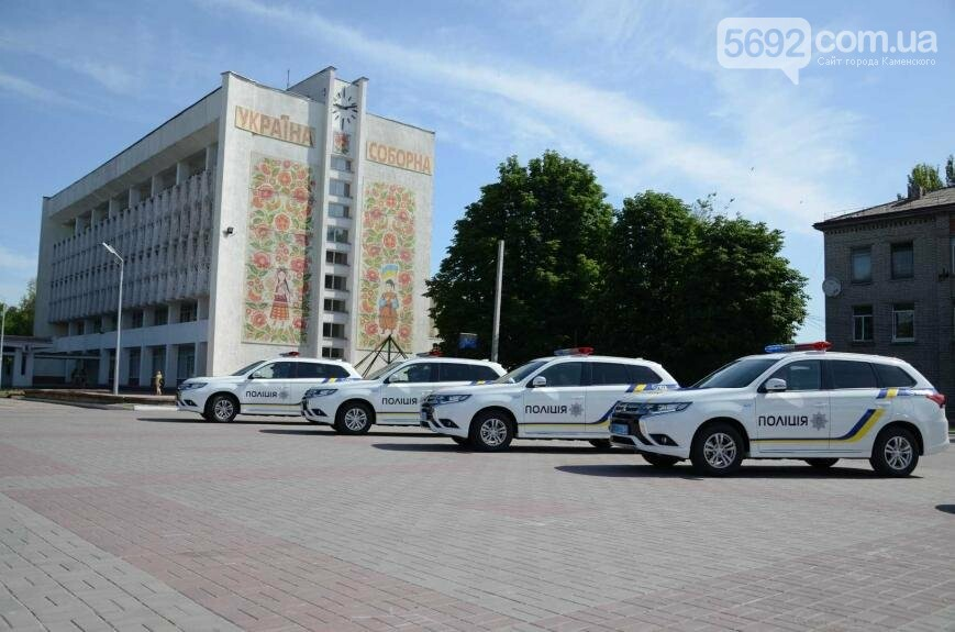 Полиция Каменского получила новые электромобили, фото-10