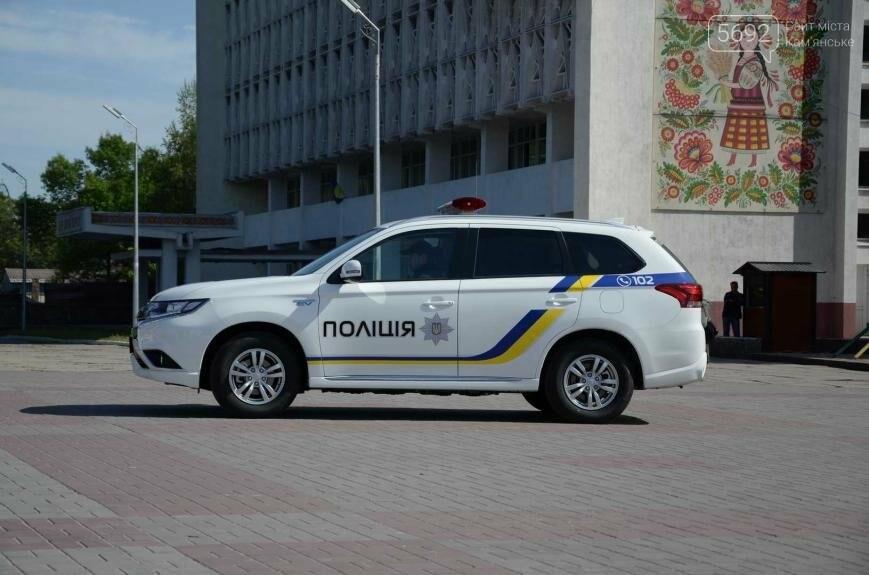 Полиция Каменского получила новые электромобили, фото-11