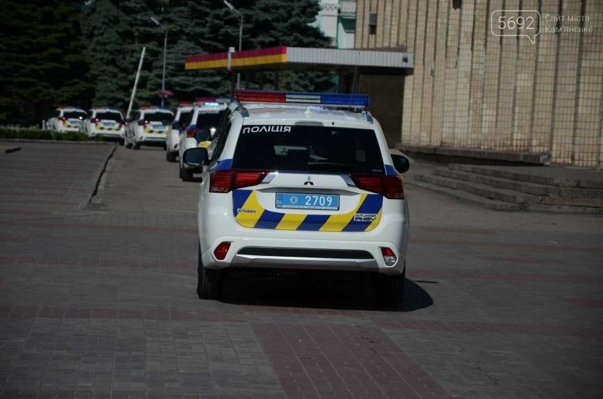 Полиция Каменского получила новые электромобили, фото-13