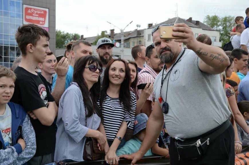 В Каменском выступили богатыри, фото-7