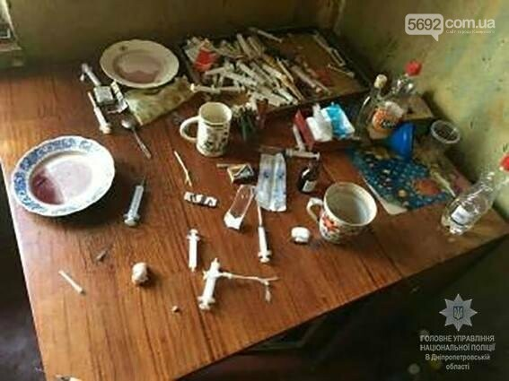 Каменские полицейские нашли наркопритон с дезоморфином, фото-2