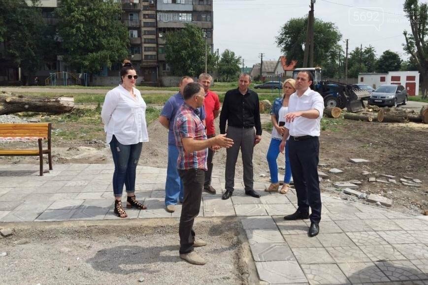 В Каменском жителям поселка Строителей создают зону отдыха, фото-1