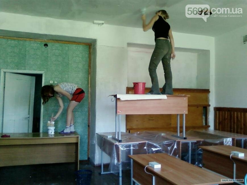 Трудовая практика в школах Каменского - дело добровольное, фото-1