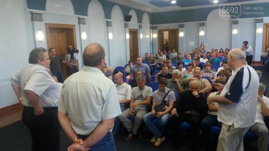 В Каменском рабочим пообещали запустить ДМК в конце июня, фото-2