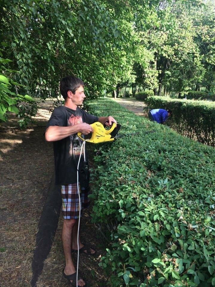 В Каменском парке денег нет, а работы начали , фото-4