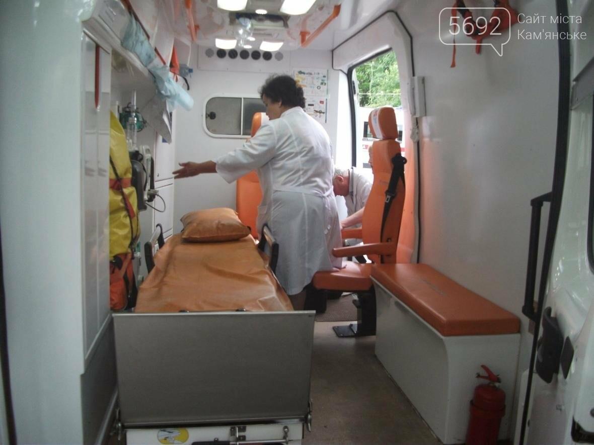 Материально-техническое обеспечение скорой помощи Каменского улучшилось, фото-3