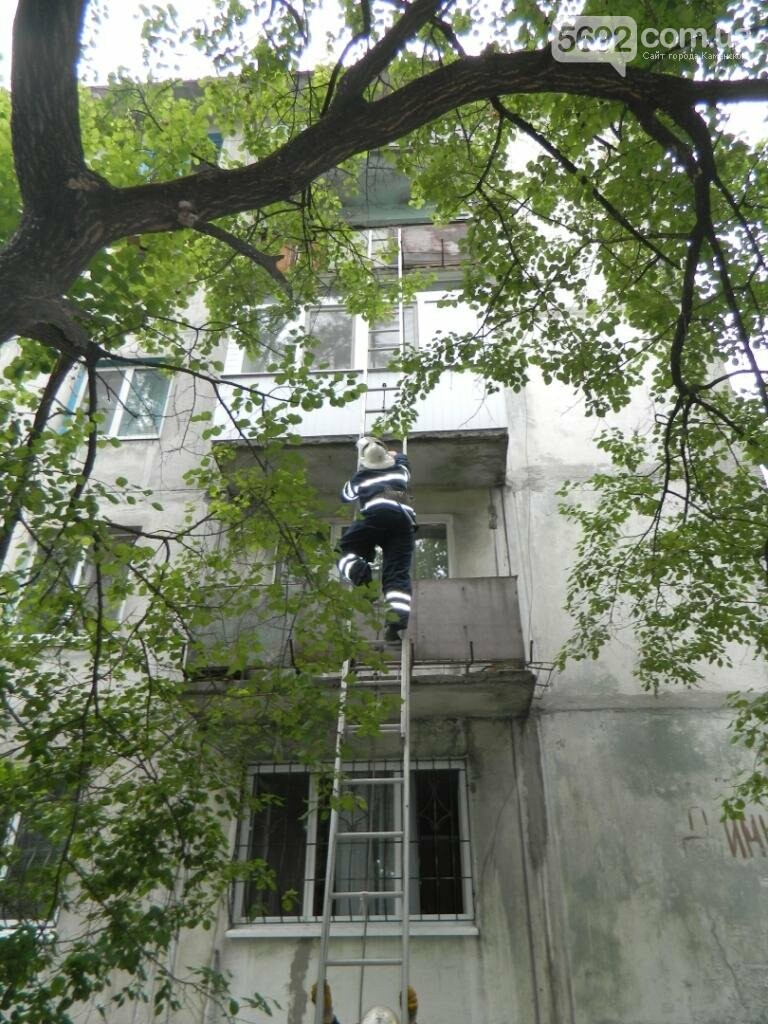 В Каменском из-за подгоревшей пищи вызывали спасателей, фото-1