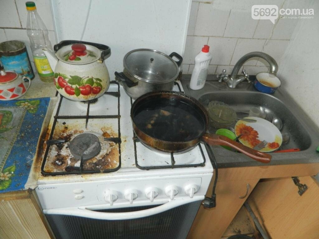 В Каменском из-за подгоревшей пищи вызывали спасателей, фото-2