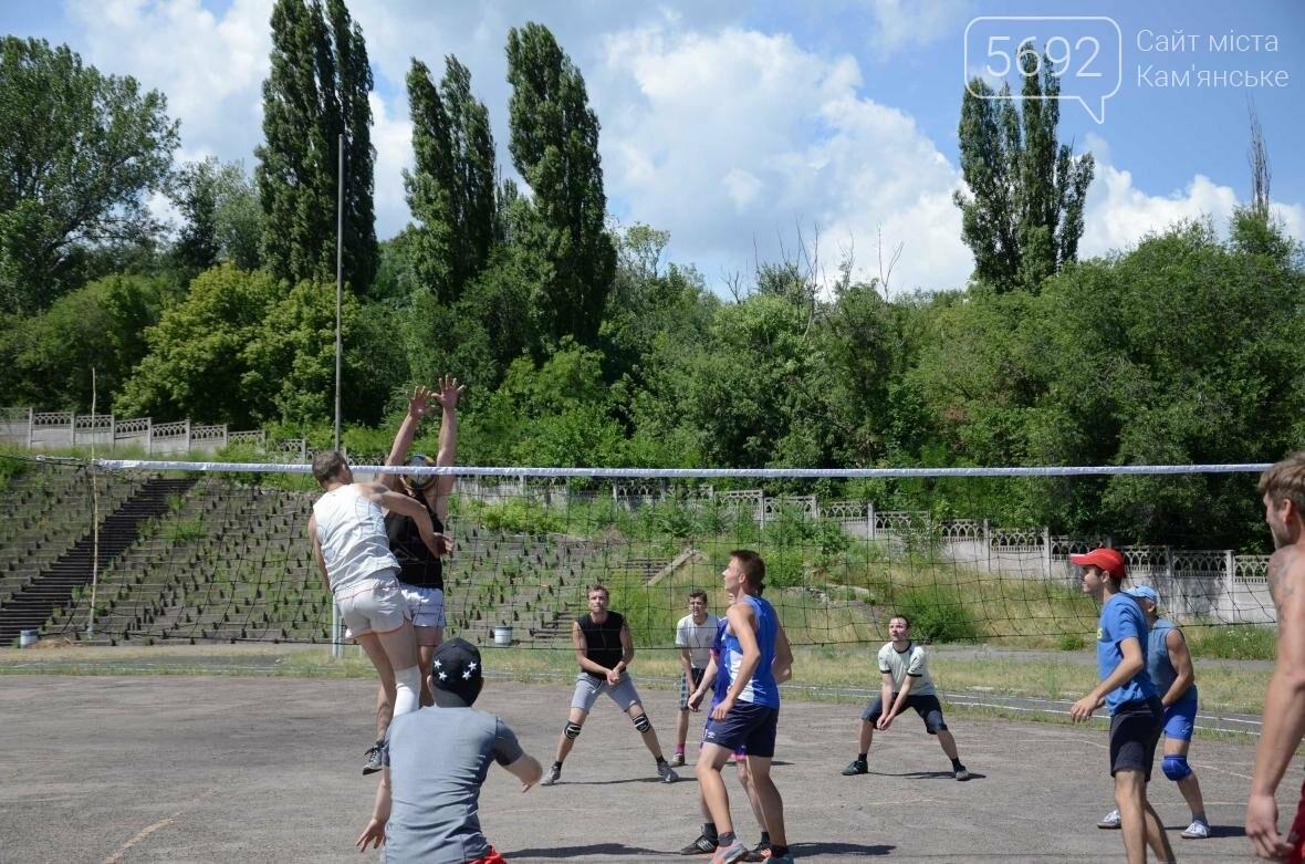 Спортсмены Каменского соревновались на пляже, фото-4