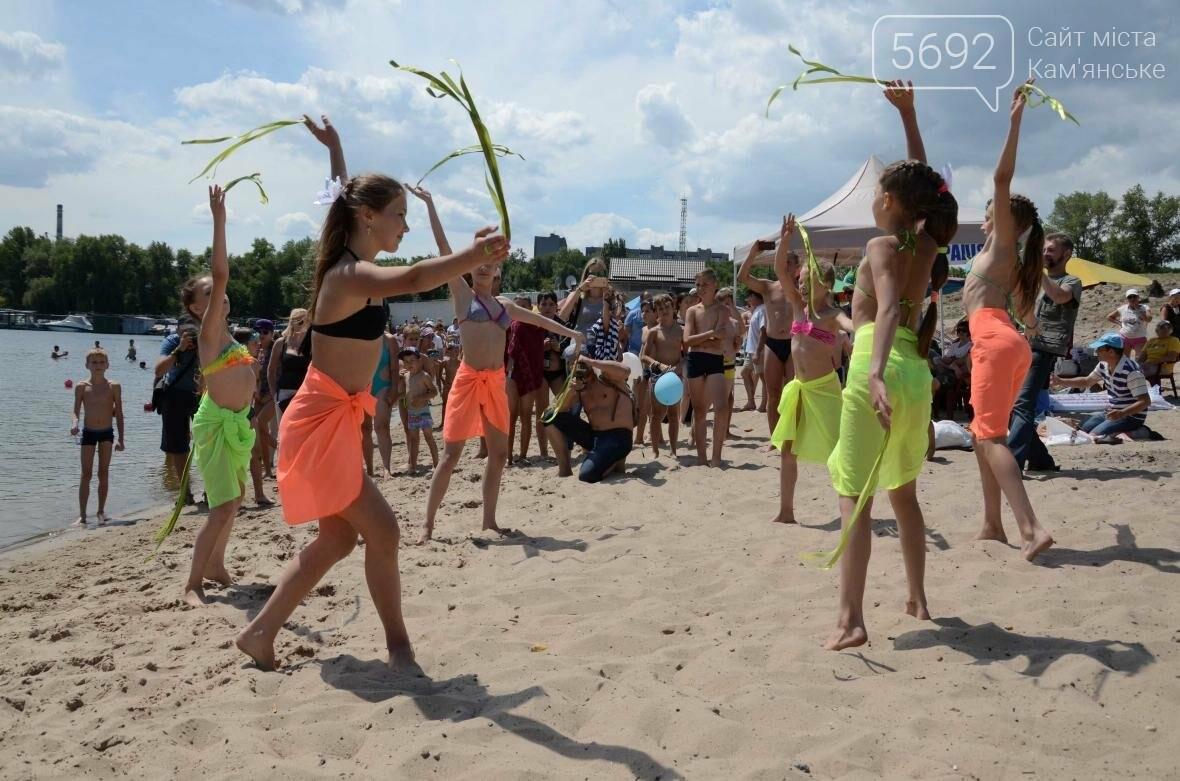 Спортсмены Каменского соревновались на пляже, фото-11