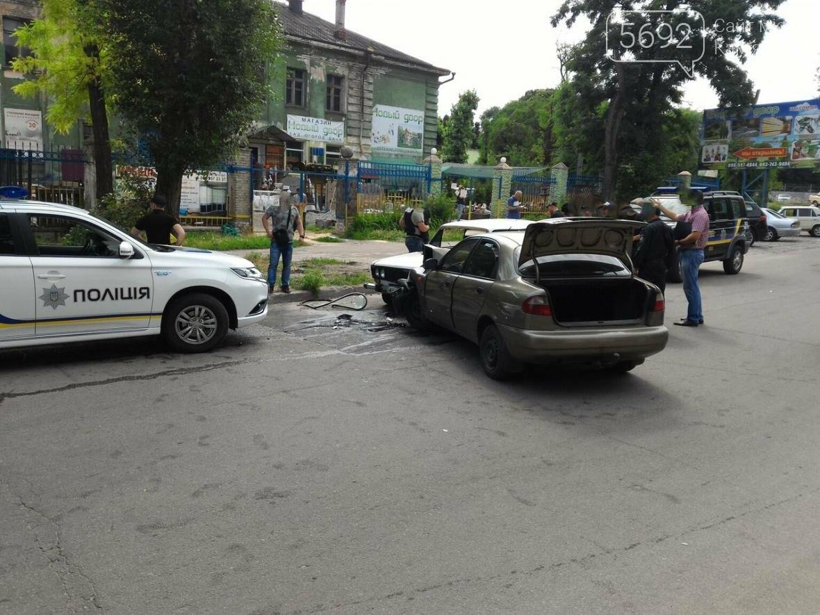 В Каменском погоня полиции за наркосбытчиками закончилась ДТП, фото-1