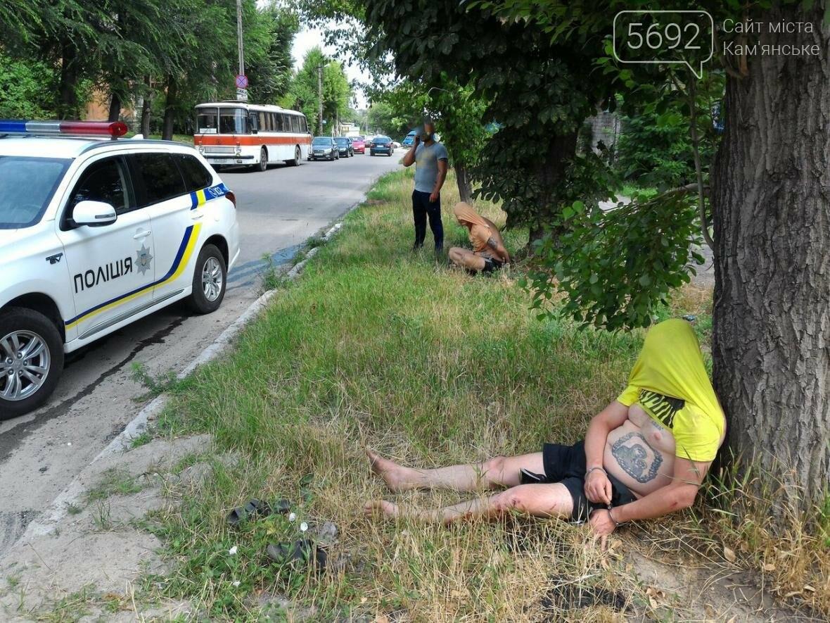 В Каменском погоня полиции за наркосбытчиками закончилась ДТП, фото-3