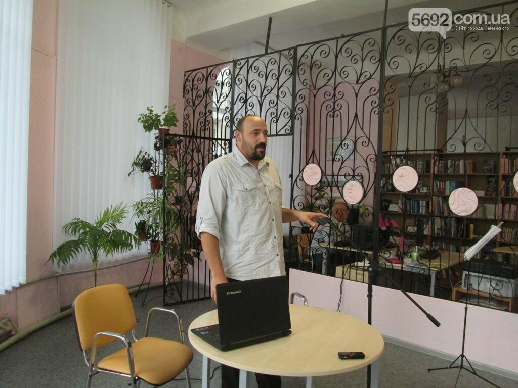 В Каменском прошла творческая встреча с актером Артемом Лебедевым, фото-3