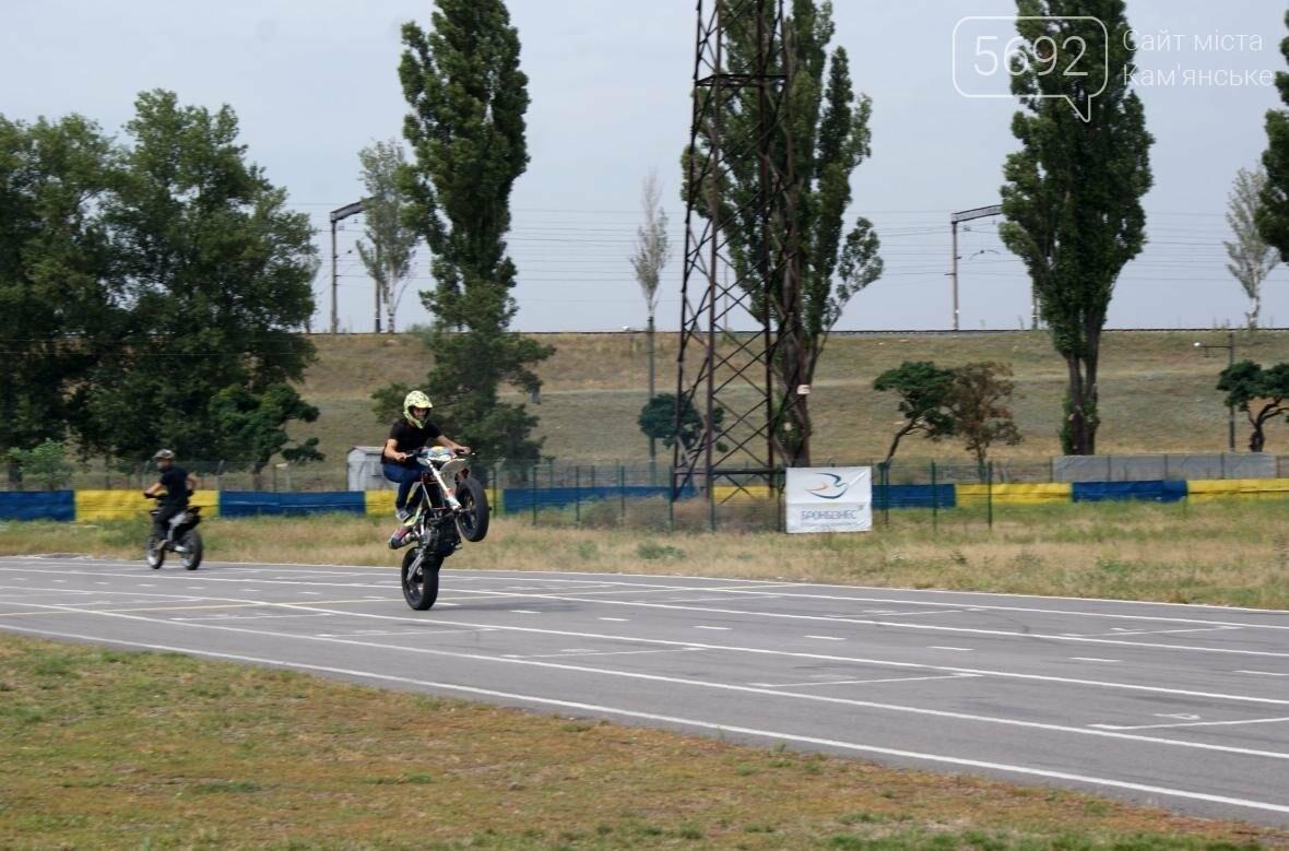 В Каменском соревновались мотогонщики, фото-5