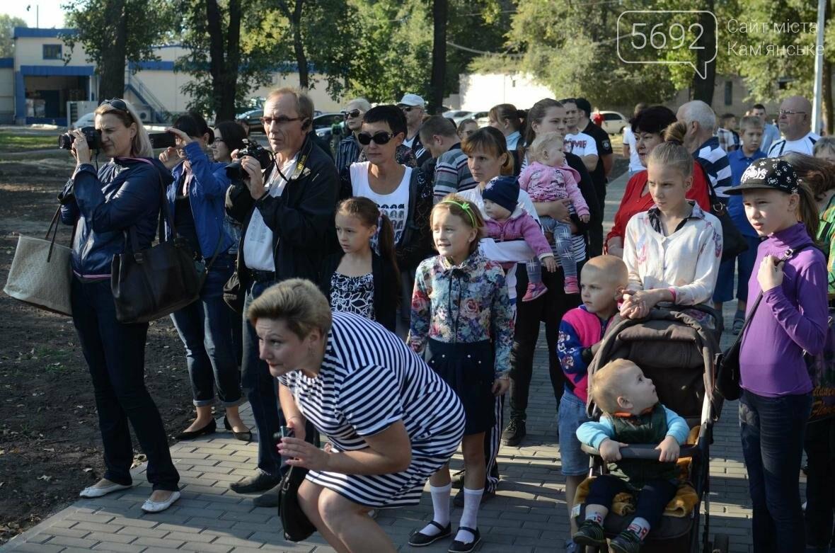 В Южном районе Каменского открылась зона отдыха, фото-13