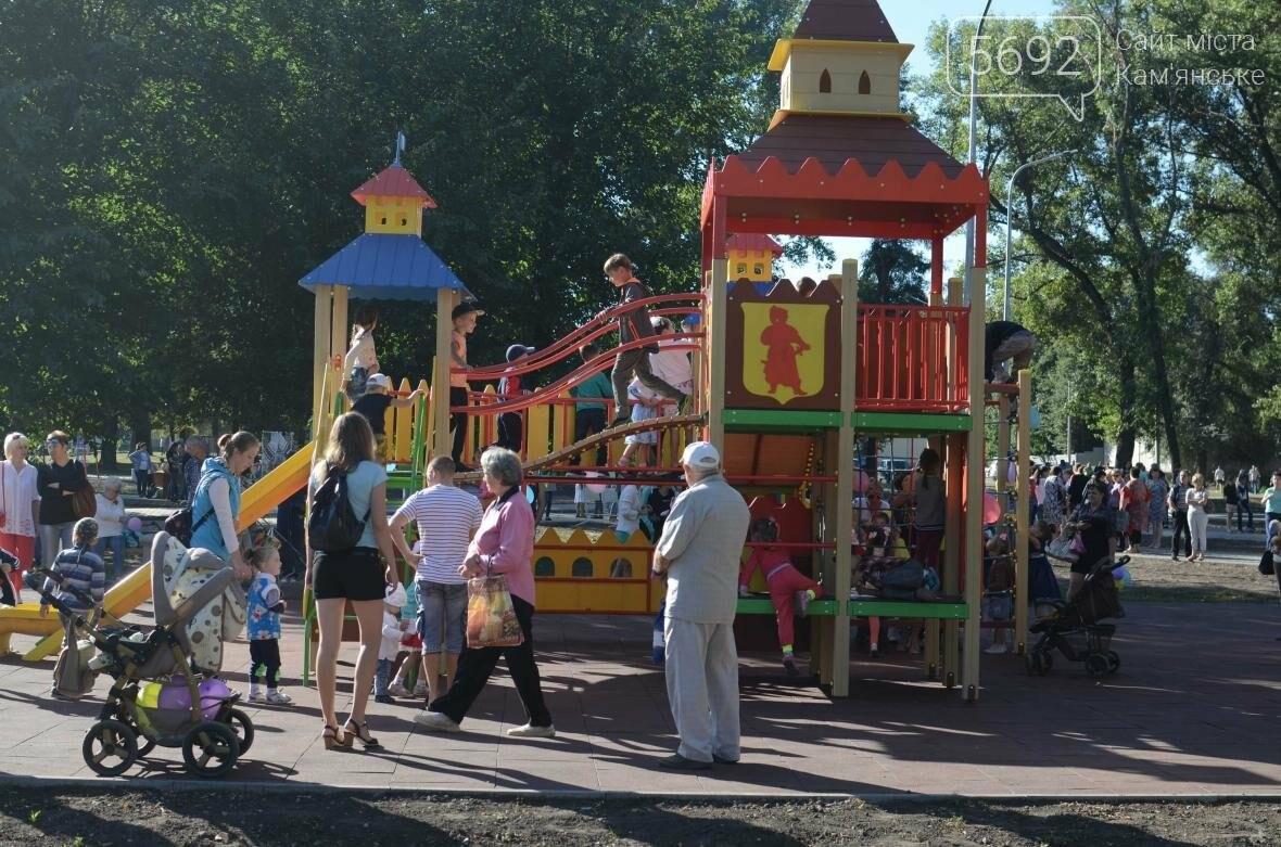 В Южном районе Каменского открылась зона отдыха, фото-23
