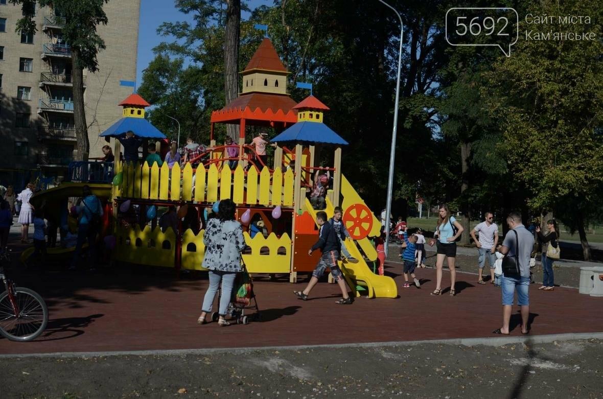 В Южном районе Каменского открылась зона отдыха, фото-16