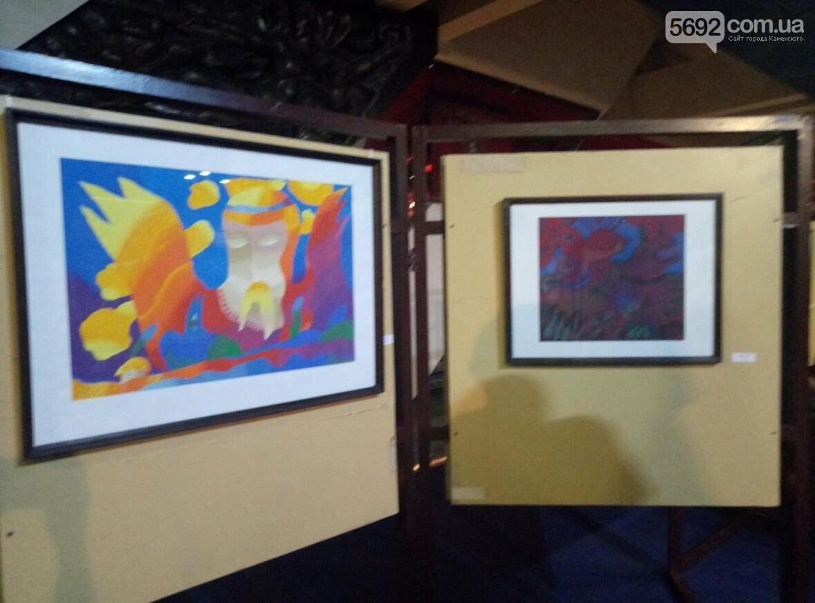 В музее истории Каменского начала работать выставка ко Дню города, фото-4