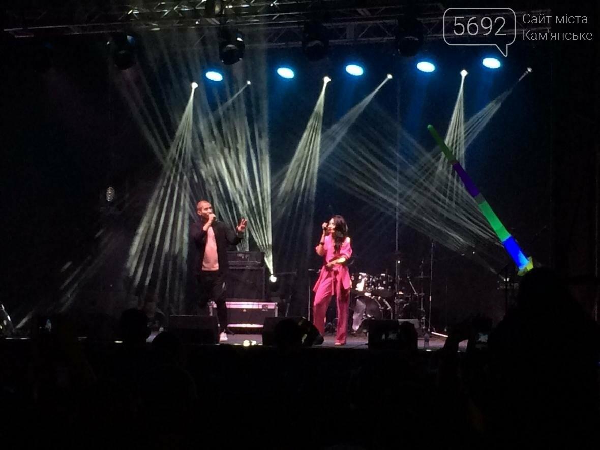 Концерт, праздничный фейерверк и огненное шоу – День города в Каменском, фото-8