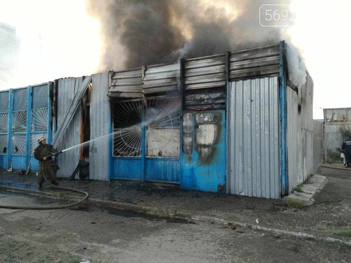 В Каменском на бульваре Освободителей вспыхнул пожар, фото-7