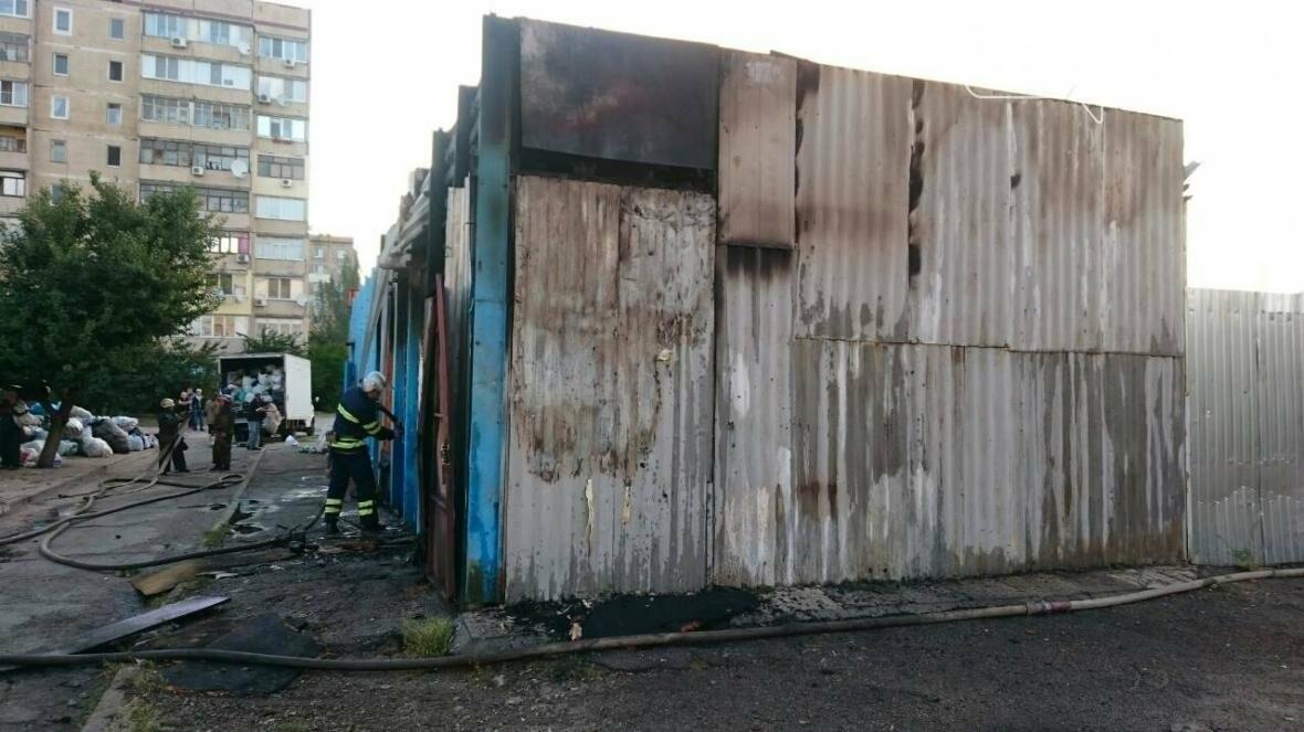 Спасатели сообщили подробности пожара на левобережье Каменского, фото-1
