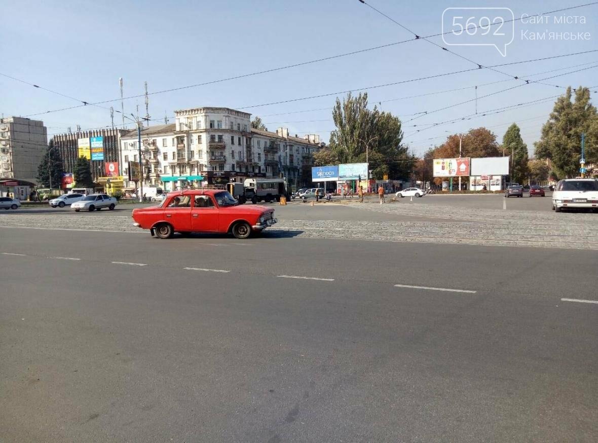 В Каменском ремонтируют трамвайные пути, фото-3