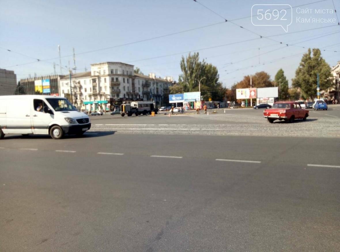 В Каменском ремонтируют трамвайные пути, фото-2