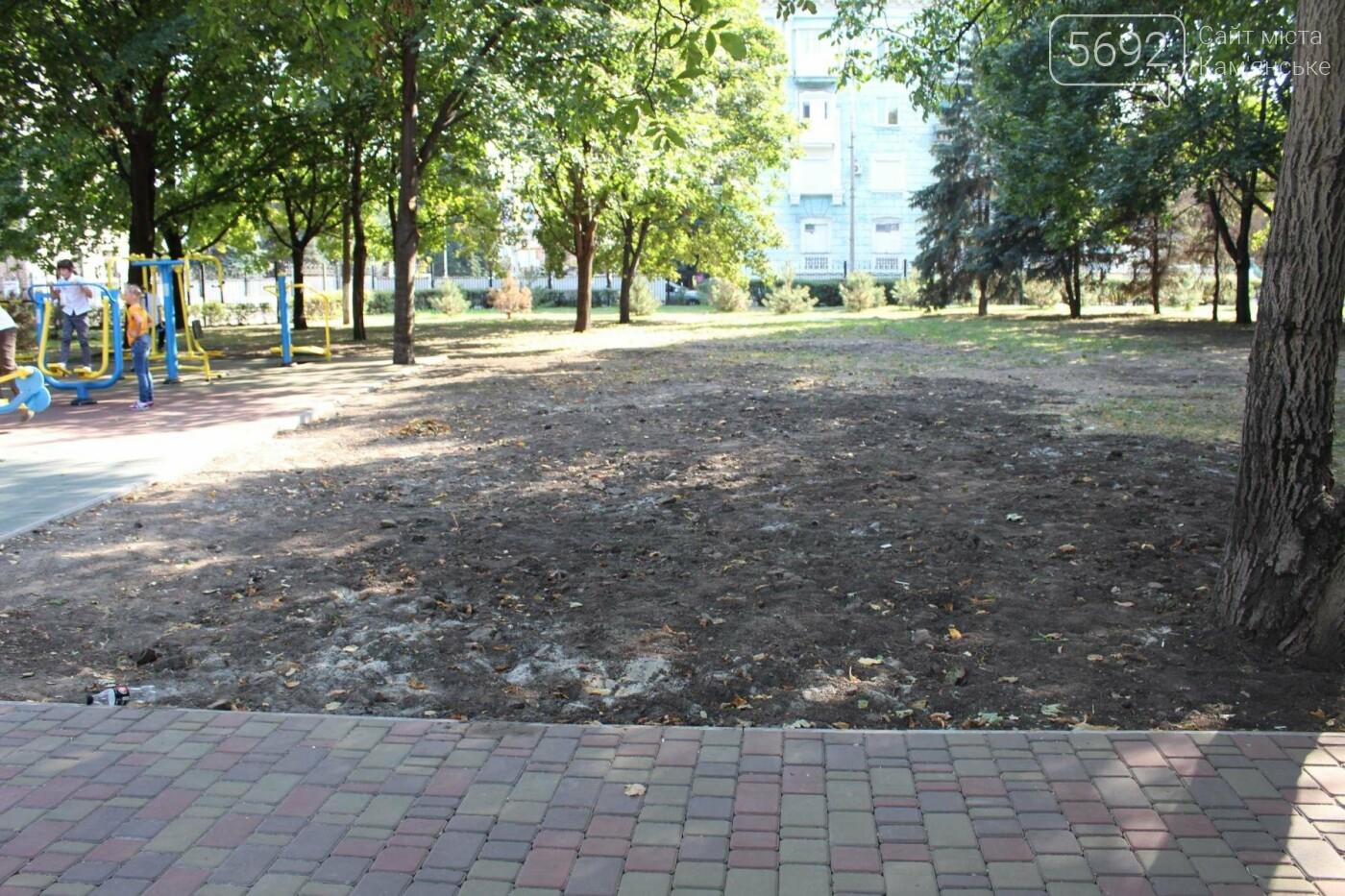 Центральный парк Каменского: задумывали одно, получили другое, фото-10