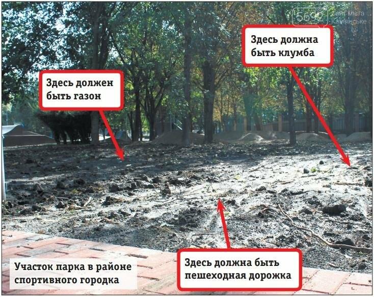 Центральный парк Каменского: задумывали одно, получили другое, фото-2