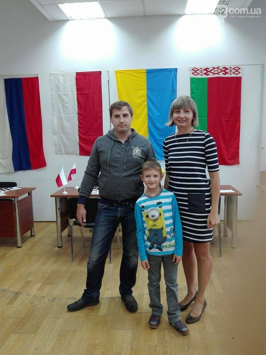 Каменчане одержали победу на международном турнире по шашкам-100, фото-1