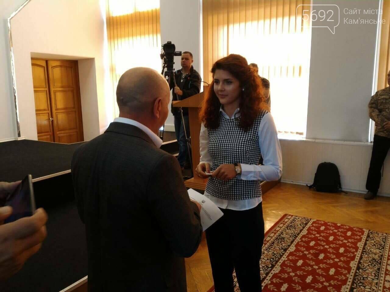 В Каменском горсовете появились новые депутаты, фото-2