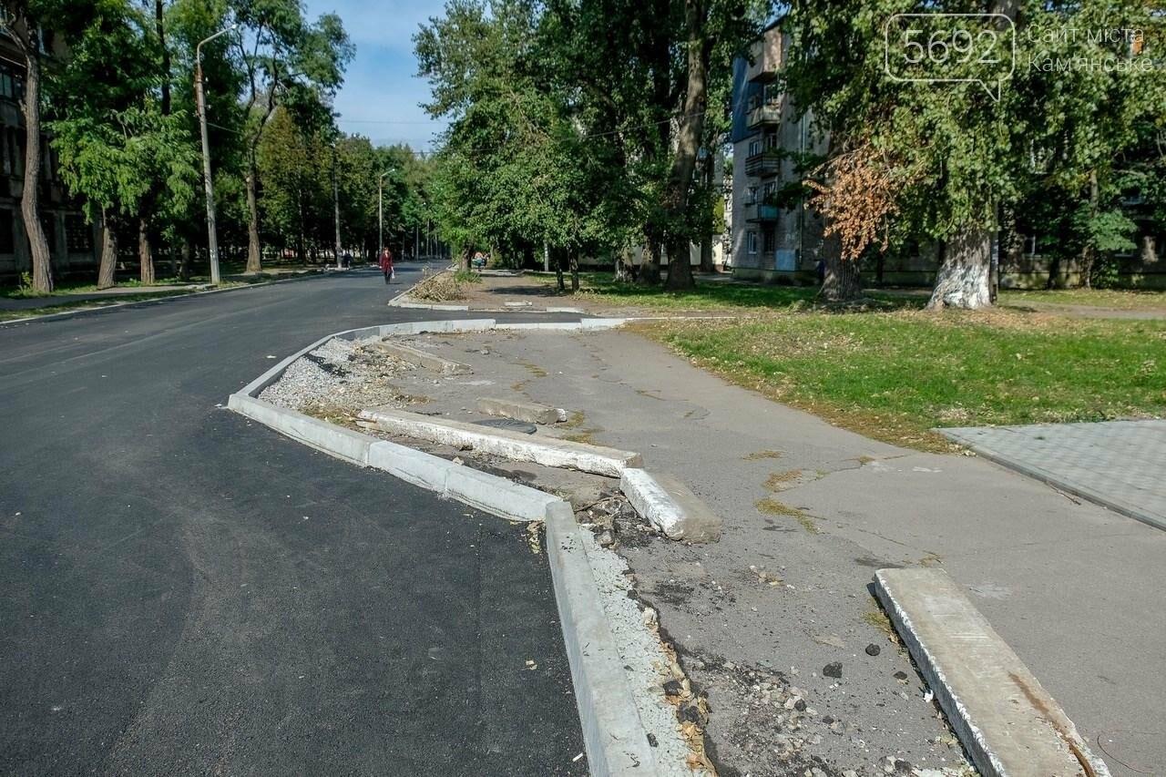 В Каменском завершается капремонт улицы, фото-6