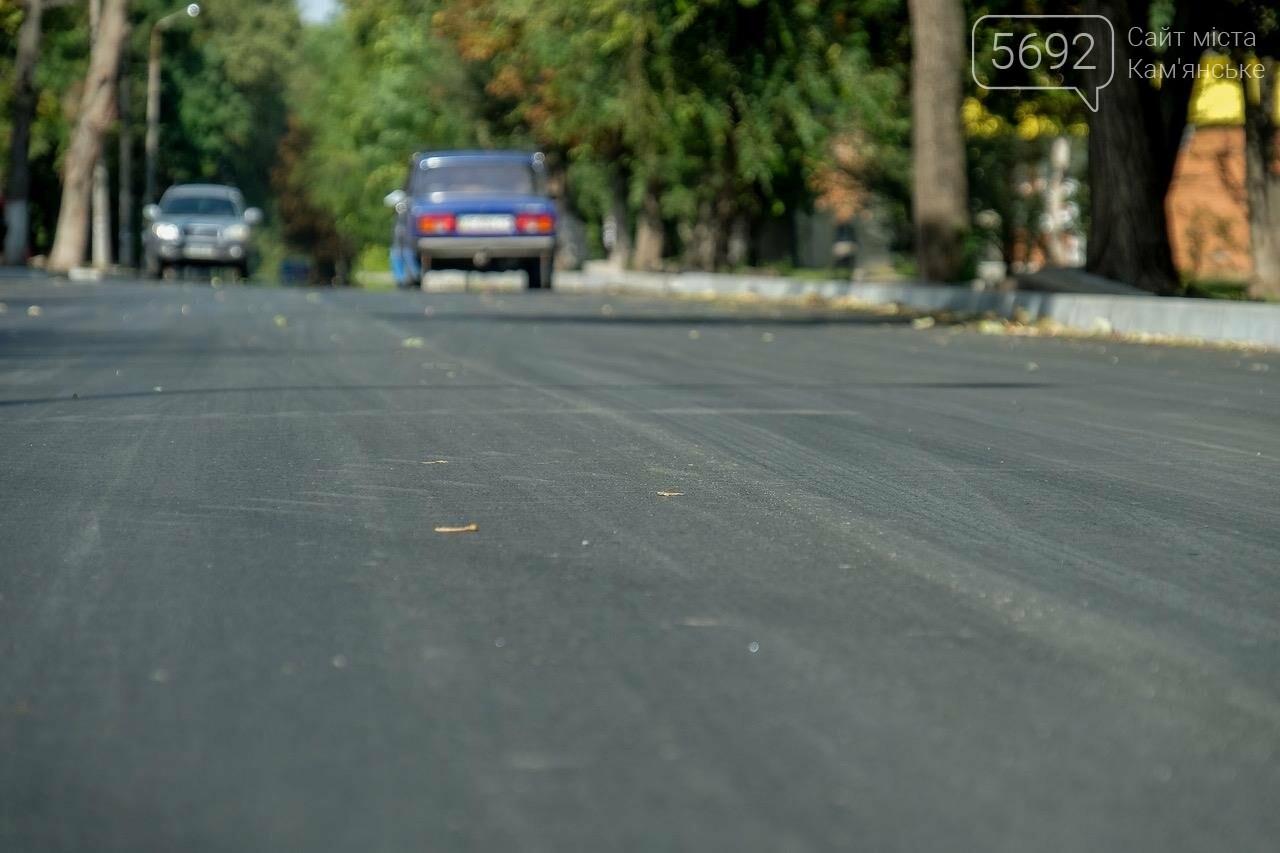 В Каменском завершается капремонт улицы, фото-2