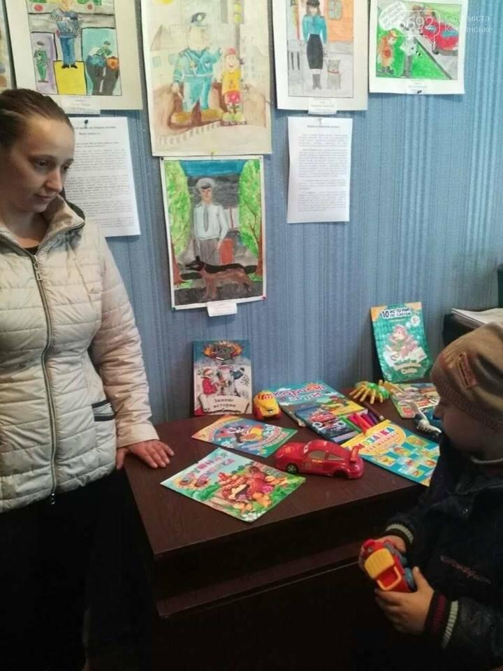 В полиции Каменского обустроили детский уголок, фото-2