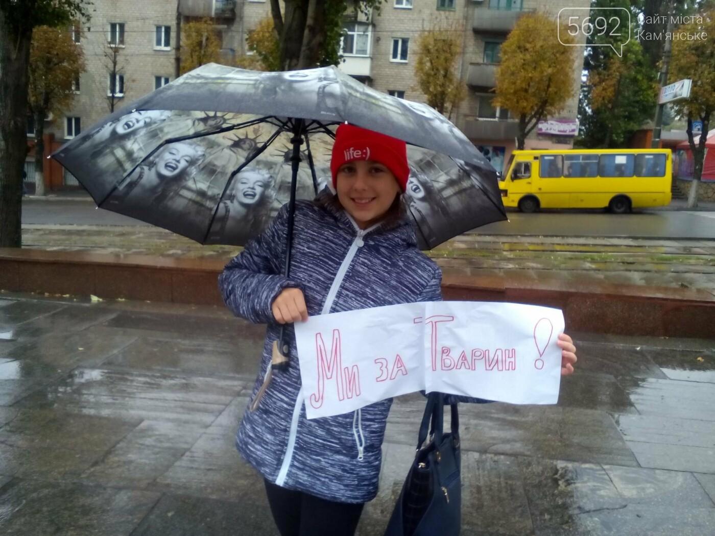 В Каменском прошел марш за права животных, фото-11
