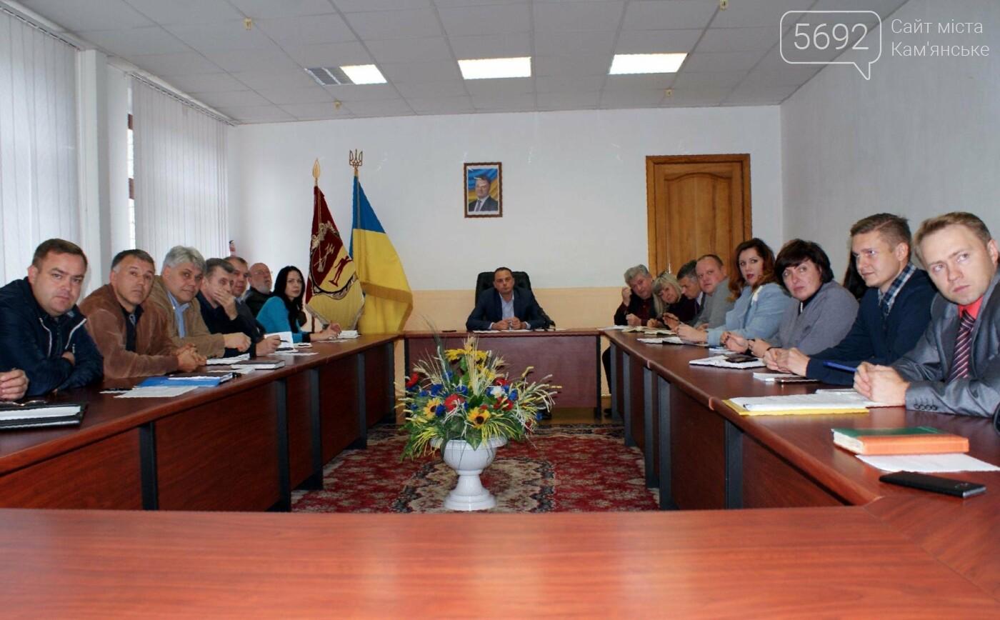 Чиновники Каменского собрались на совещание по вопросу уборки листьев, фото-3