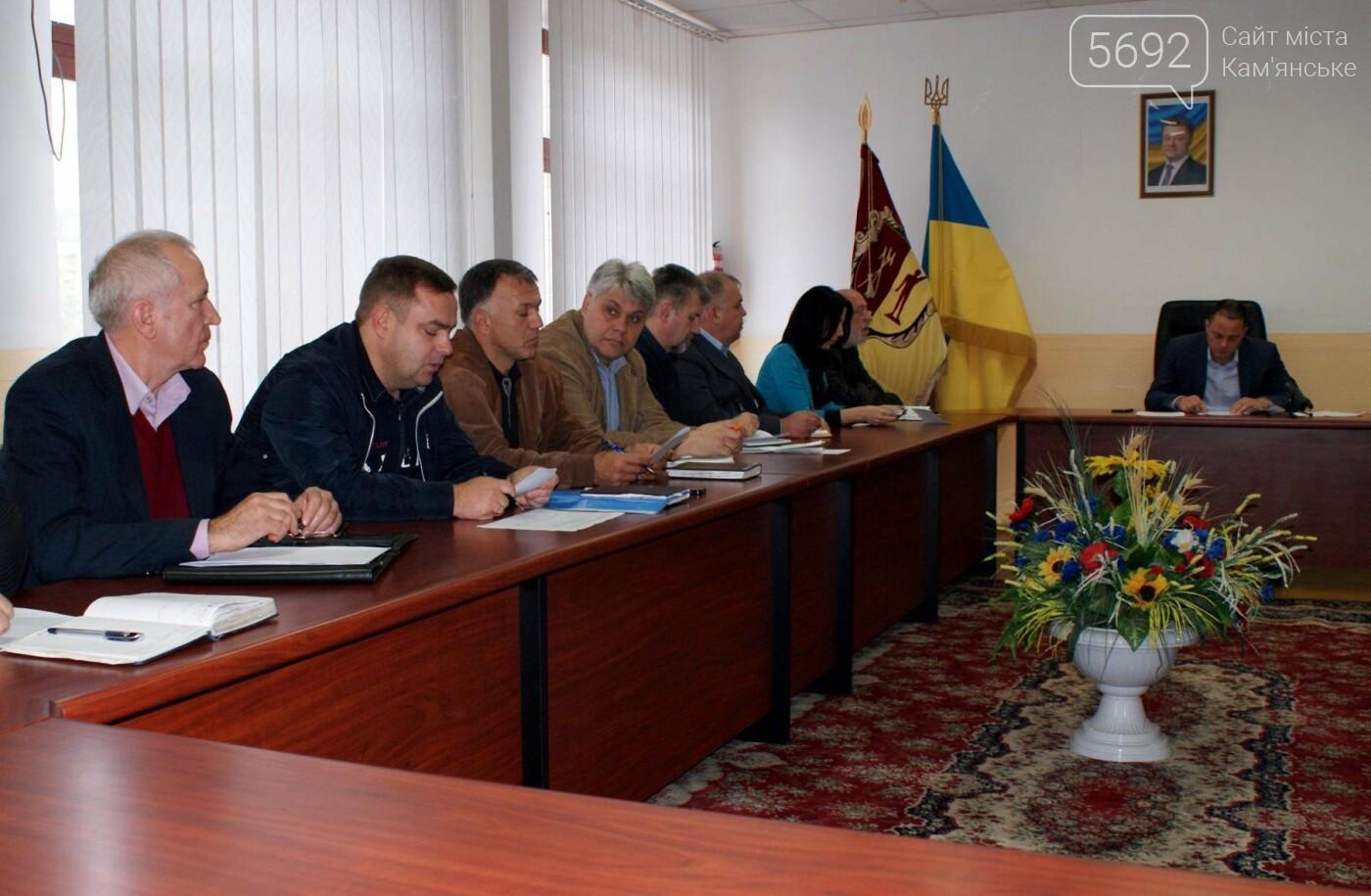 Чиновники Каменского собрались на совещание по вопросу уборки листьев, фото-2